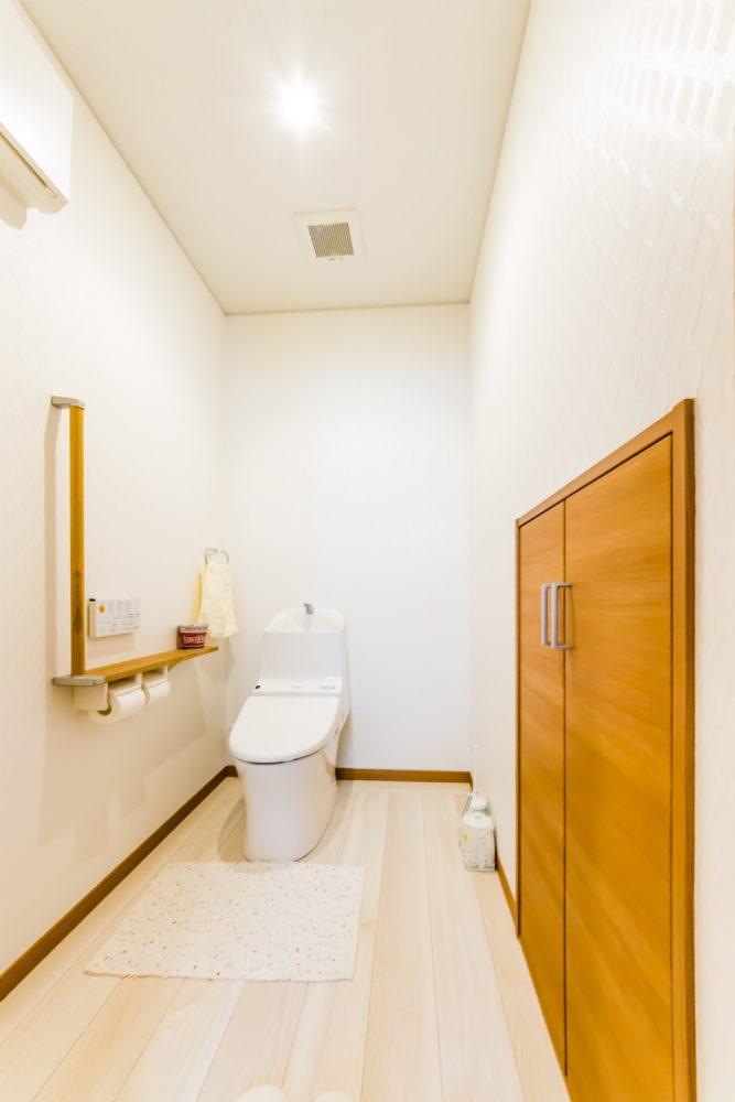 トイレ:リフォーム後